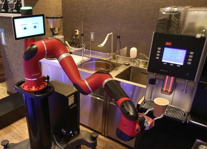 Japan Robot Cafe