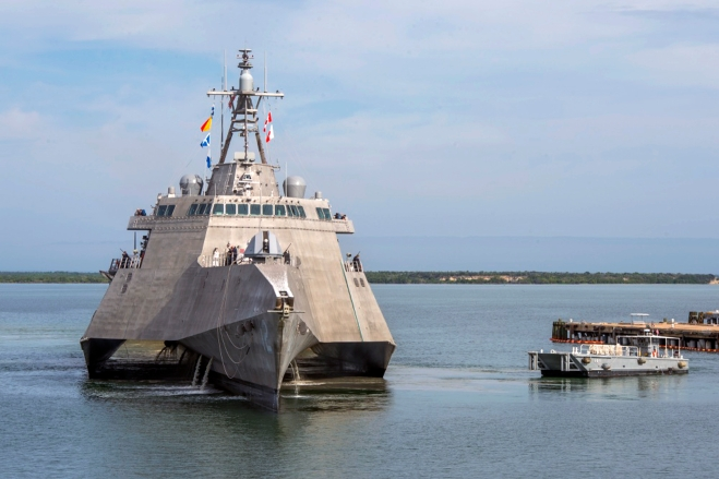 USS Omaha Commissioned